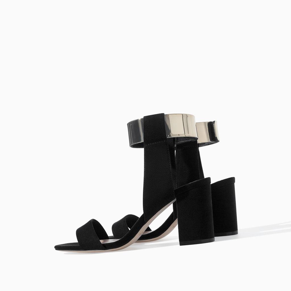 fd6d4259 Zapatos Zara Nuper Sandalias Tacon De PXiTwOuZk