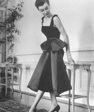 Vestido Dior Años 40