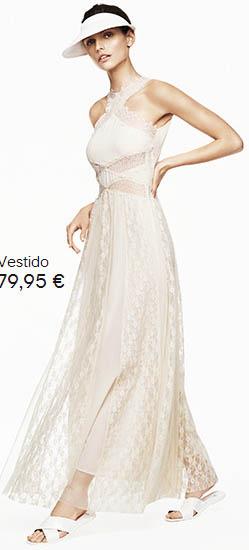H&M vestido de encaje