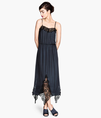 H&M vestido lencero