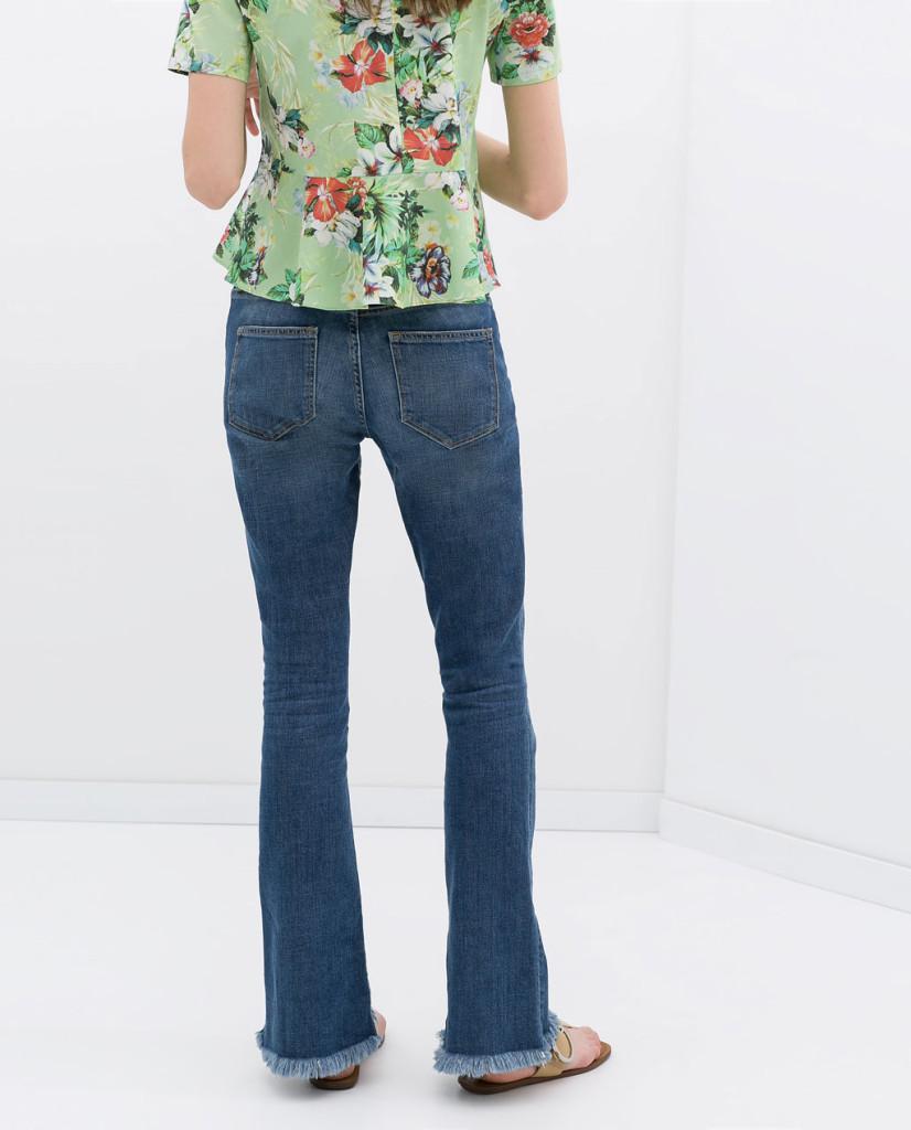 ZARA pantalones campana