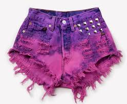 Shorts degradados