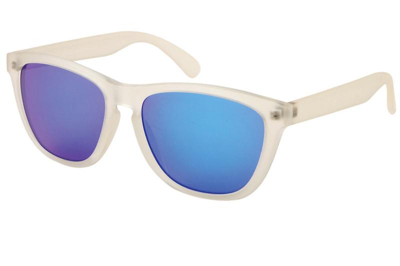 gafas espejadas en azules