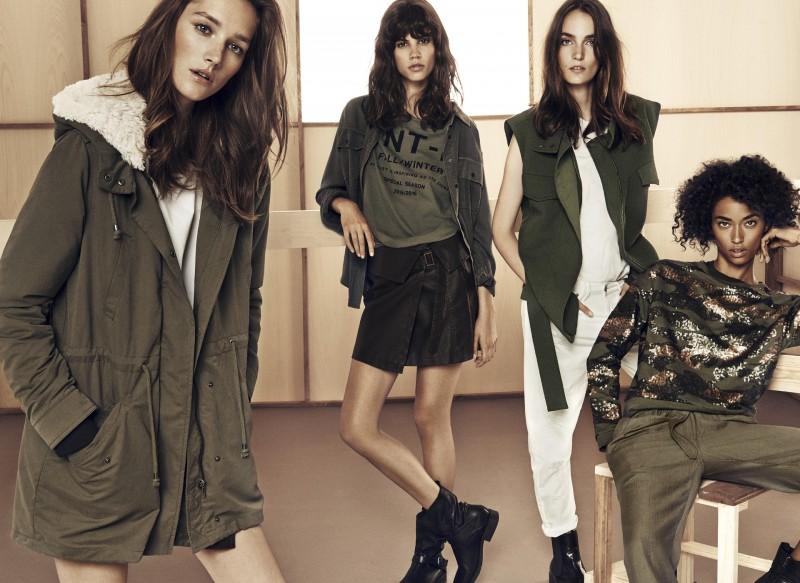 mango moda militar 2014
