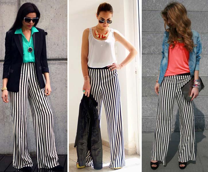 pantalones-palazzo de-rayas