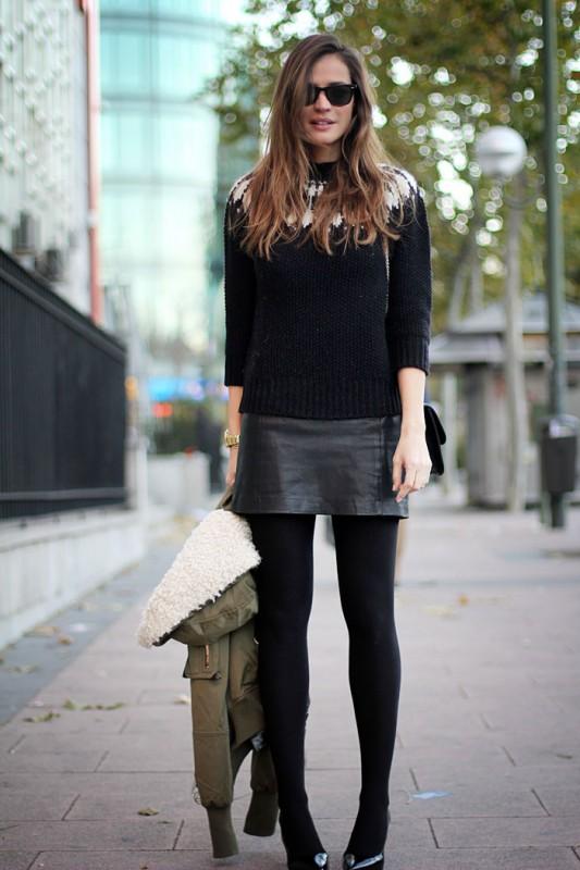 Lady-adict-minifalda-de-cuero