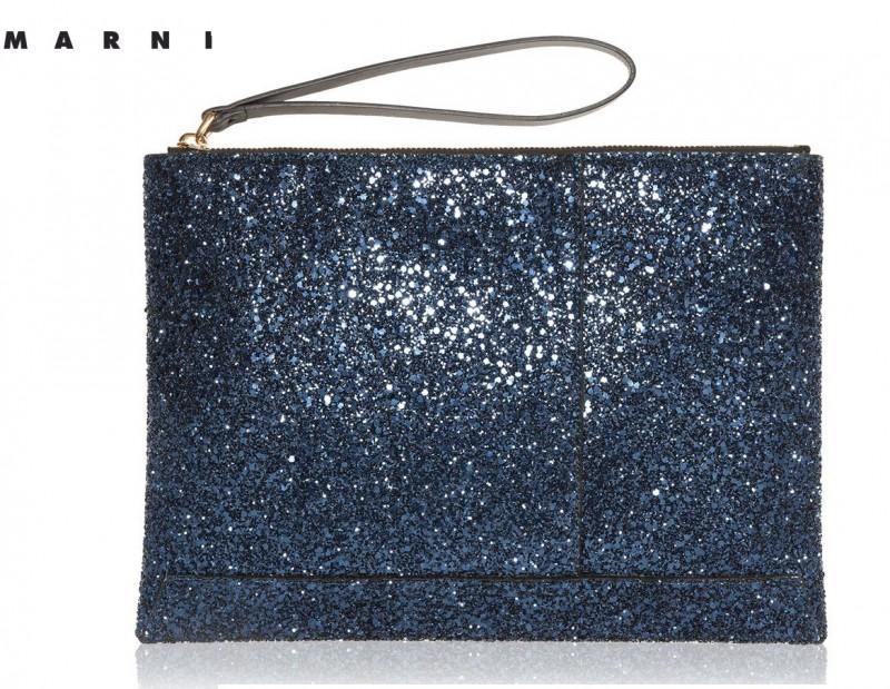 Marni bolso sobre glitter
