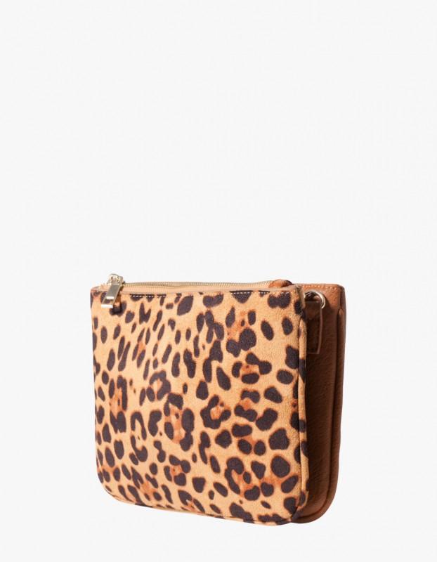 STR bolso sobre leopardo