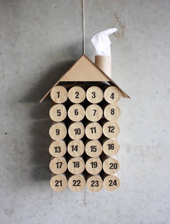 calendario-de-navidad-con-rollos-de-papel