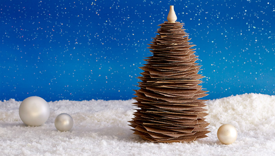 diy-arbol-navidad-papel-lija