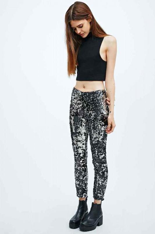 look fiesta 2014 pantalones lentejuelas urban outfitters