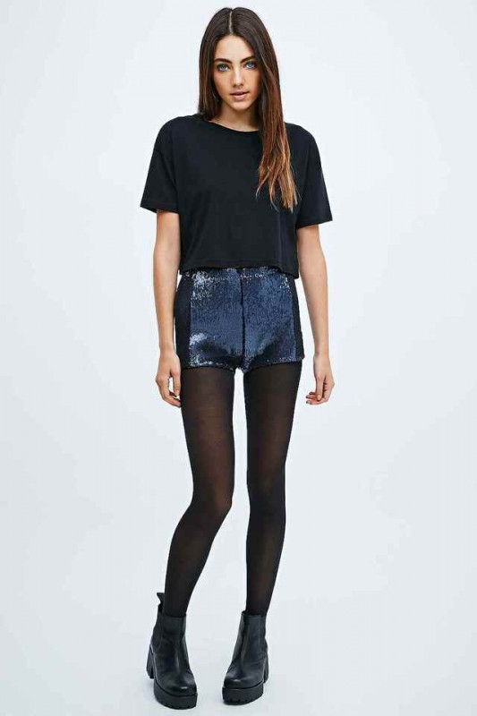 look fiesta 2014 shorts lentejuelas urban outfitters