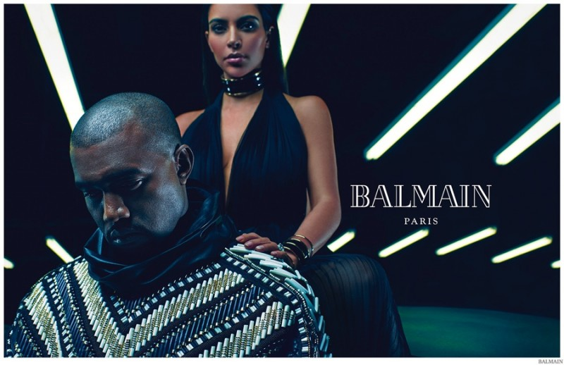Balmain-Spring-Summer-2015-Mens-Campaign-Kanye-West-Kim-Kardashian-003-800x518