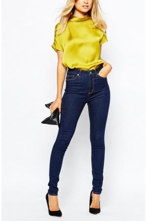 Jeans-pitillo-de-mujer-Vaqueros-pitillo-de-talle-alto